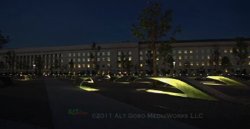 Pentagon September 11 Memorial visual tour